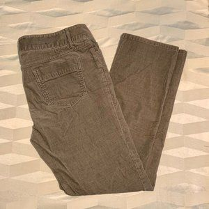 Banana Republic 10P Fine Wale Corduroy Pants